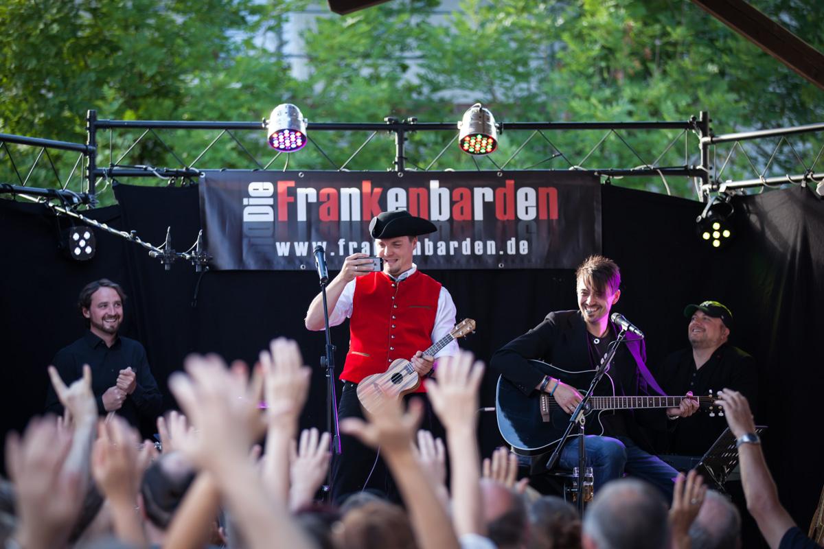 Eventfotografie: Frankenbarden live in Dottenheim 2015